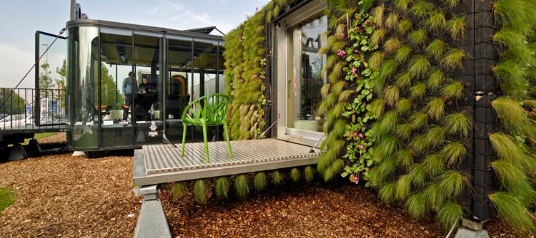 Arqcontainer arquitectura basada en contenedores for Proyectos de casas ecologicas
